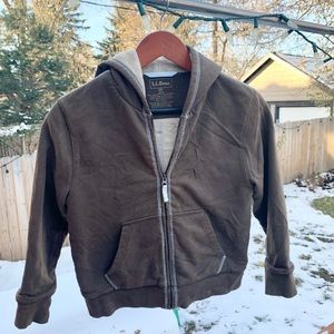 L.L. Bean brown jacket for boys size S8